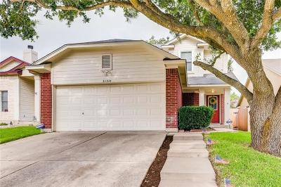 Pflugerville Single Family Home For Sale: 21310 Secretariat Ridge Ln