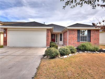 Hutto Single Family Home Pending - Taking Backups: 222 Tolcarne Dr