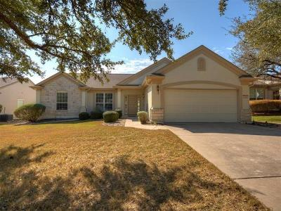 Georgetown Single Family Home For Sale: 110 Guadalupe Trl