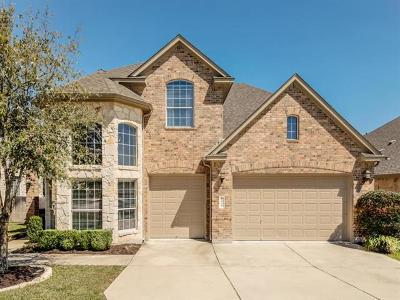 Cedar Park Single Family Home For Sale: 1006 Rhondstat Run