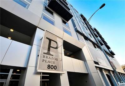 Brazos Place Condo Amd Condo/Townhouse Pending - Taking Backups: 800 Brazos St #1211