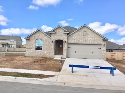 Round Rock Single Family Home For Sale: 1206 Homer Ln