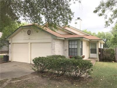 Round Rock Single Family Home Pending - Taking Backups: 1225 Greenbriar Loop