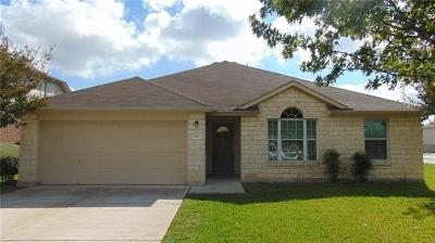 Hutto Single Family Home Pending - Taking Backups: 100 Gainer Dr