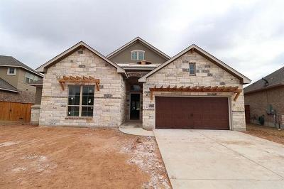 Georgetown Single Family Home For Sale: 108 Lockhart Loop
