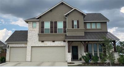 Pflugerville Single Family Home For Sale: 20224 Crested Caracara Ln