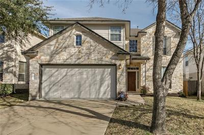Hays County, Travis County, Williamson County Single Family Home Pending - Taking Backups: 10309 Big Thicket Dr