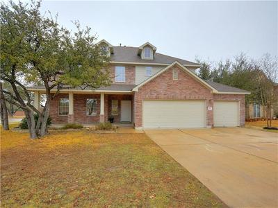 Leander Single Family Home Pending - Taking Backups: 400 Olmos Dr
