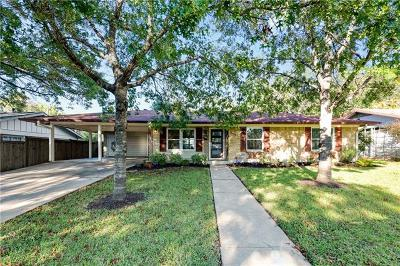 Austin Single Family Home For Sale: 1602 Glenvalley Dr