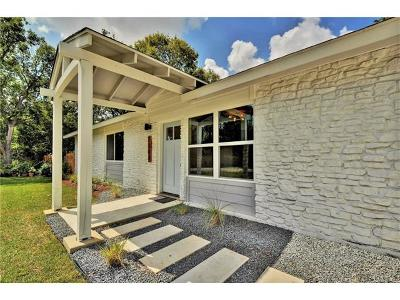 Austin Single Family Home Pending - Taking Backups: 7208 Lenora St