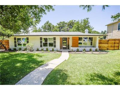 Austin Single Family Home Pending - Taking Backups: 6100 Cary Dr