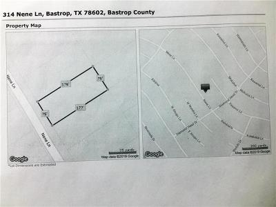 Bastrop County Residential Lots & Land For Sale: 314 Nene Ln