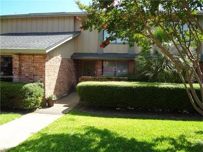 Austin Condo/Townhouse For Sale: 9627 Covey Ridge Ln
