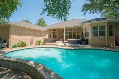 Round Rock Single Family Home For Sale: 3602 Nicholaus Cv