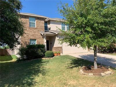 Leander Single Family Home For Sale: 168 Housefinch Loop