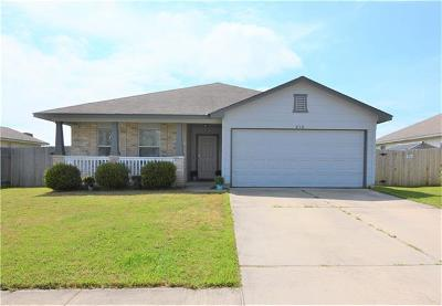 Hutto Single Family Home For Sale: 210 Cloud Rd