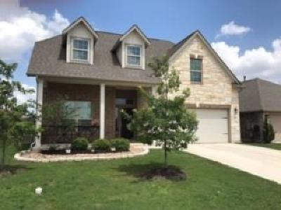 Round Rock Single Family Home For Sale: 8348 Angelo Loop