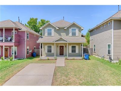 Austin Single Family Home For Sale: 1604 Maple Ave #1