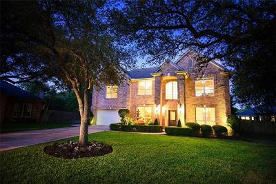 Hays County, Travis County, Williamson County Single Family Home Pending - Taking Backups: 4001 Crystal Water Cv