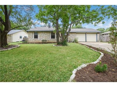 Round Rock Single Family Home Pending - Taking Backups: 609 Garden Path Dr