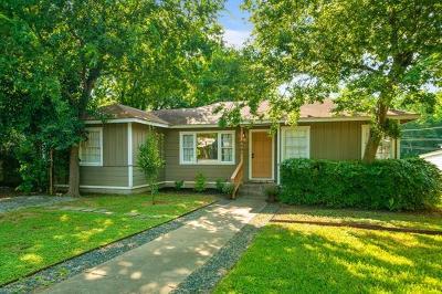 Travis County Single Family Home Pending - Taking Backups: 4607 Gillis St