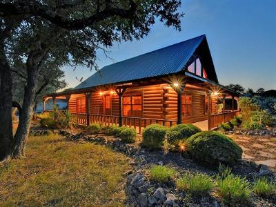 Burnet County Single Family Home For Sale: 360 County Road 100