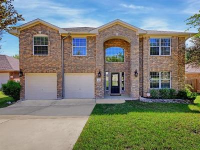 Leander Single Family Home For Sale: 2408 Granite Creek Dr