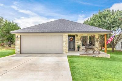Lago Vista Single Family Home For Sale: 21513 Horseshoe Loop