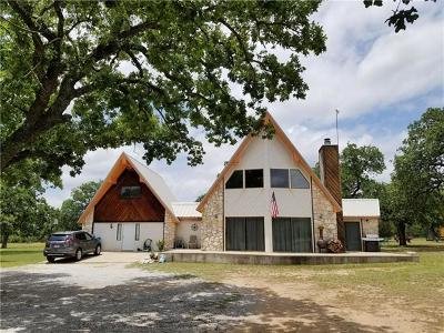 Marble Falls Single Family Home For Sale: 617 County Road 123a