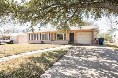 Travis County Single Family Home For Sale: 8202 Kromer St