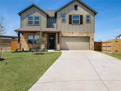 Hutto Single Family Home For Sale: 720 Hereford Loop