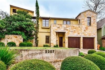 Austin Single Family Home For Sale: 2207 Forest Trl
