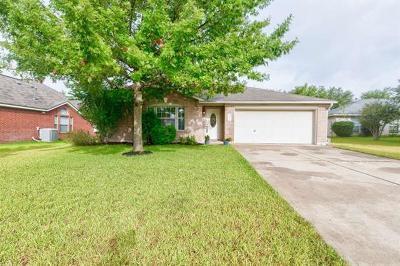 Pflugerville Single Family Home For Sale: 802 Honeysuckle Ln