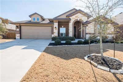 Hutto TX Single Family Home For Sale: $269,999
