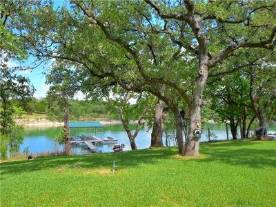 Burnet County, Llano County, Travis County Single Family Home For Sale: 1405 Edgewater Dr