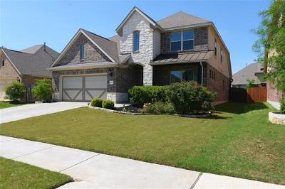Cedar Park, Leander Single Family Home For Sale: 3805 Julian Ln