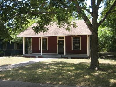 Taylor Single Family Home For Sale: 709 W 7th St