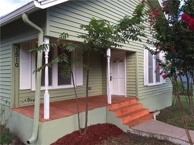 Taylor Single Family Home For Sale: 1510 Frink St