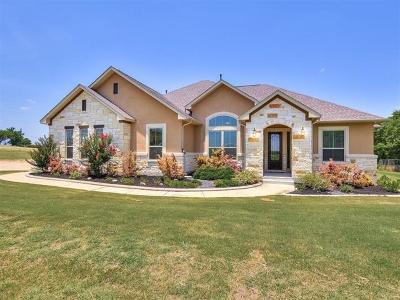 Manor Single Family Home Pending - Taking Backups: 8900 Cele Rd