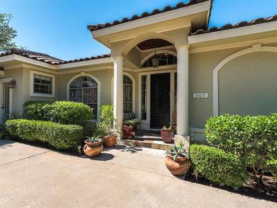 Lakeway Single Family Home Pending - Taking Backups: 107 Firebird St