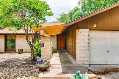 Austin Single Family Home For Sale: 9301 Hunters Trce