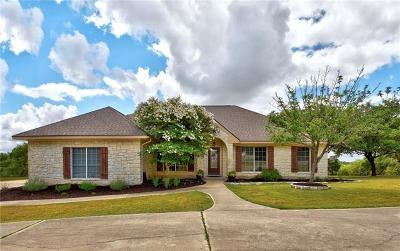 Dripping Springs TX Single Family Home Pending - Taking Backups: $489,000