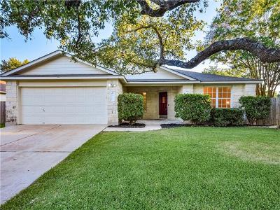 Cedar Park Single Family Home For Sale: 1512 Julianas Way