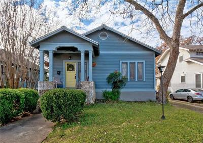 Austin Single Family Home For Sale: 305 W 37th St