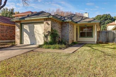 Round Rock Single Family Home Pending - Taking Backups: 2218 Jasmine Path