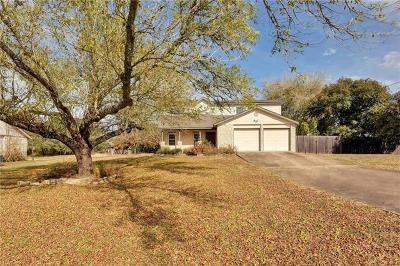 Hays County, Travis County, Williamson County Single Family Home Pending - Taking Backups: 3506 Cattleman Dr