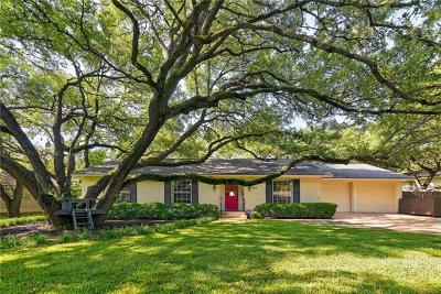 Austin Single Family Home Pending - Taking Backups: 7219 Running Rope