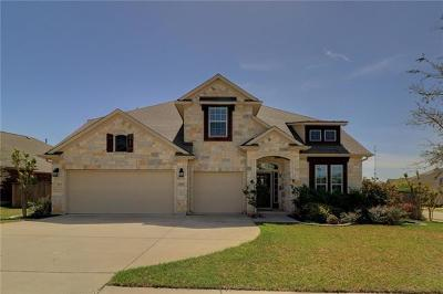 Round Rock Single Family Home For Sale: 2103 Reston Cv
