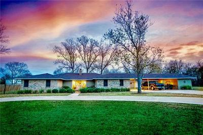 Round Rock Single Family Home For Sale: 17 Hidden Acres Dr