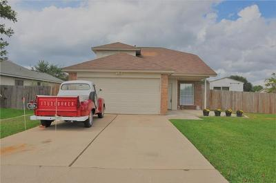 Leander Single Family Home For Sale: 1301 Still Meadow Dr